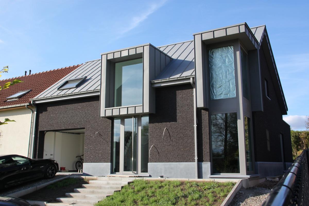 Zinken daken nieuw dak in zink prijsofferte